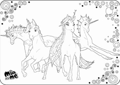 Mia and Me Malvorlagen Schön Mia and Me Coloring Pages Coloring for Kids Coloring Mia and Me
