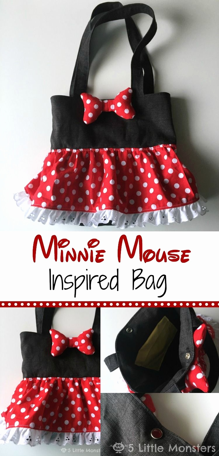 Minnie Mouse Einladungskarten Schön Minnie Mouse Crafts for Kids Awesome Minnie Mouse Inspired Bag