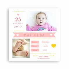 Optimalprint Geburtskarten Genial 26 Best Babykarten Images On Pinterest