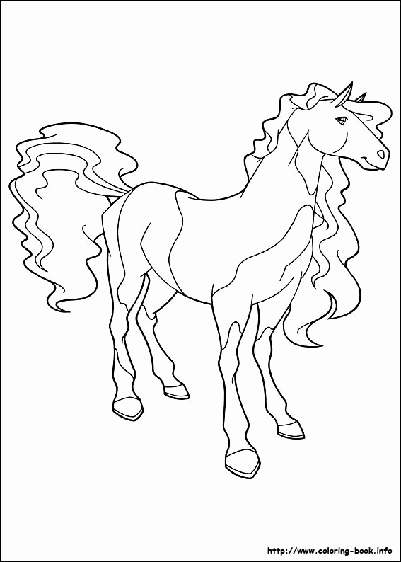 Pferdebilder Zum Ausmalen Luxus Horseland Coloring Picture Coloring Pages Pinterest