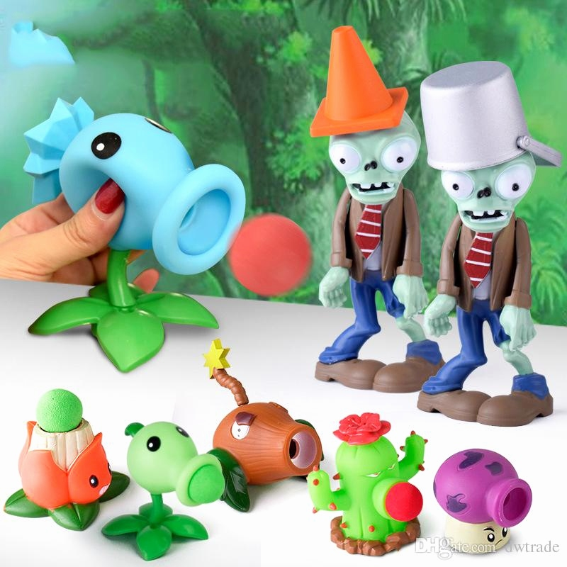 Pflanzen Gegen Zombie Elegant Discount Pvz Plants Vs Zombies Peashooter Pvc Action Figure Model