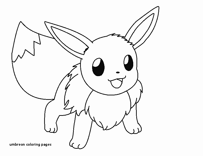 Pokemon Zum Ausmalen Inspirierend 21 Umbreon Coloring Pages
