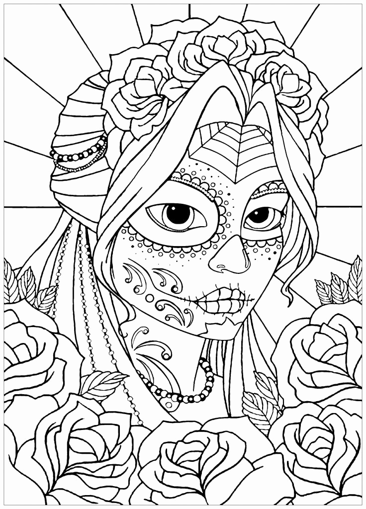 Pokemon Zum Ausmalen Luxus 14 Unique Dia De Los Muertos Coloring Pages