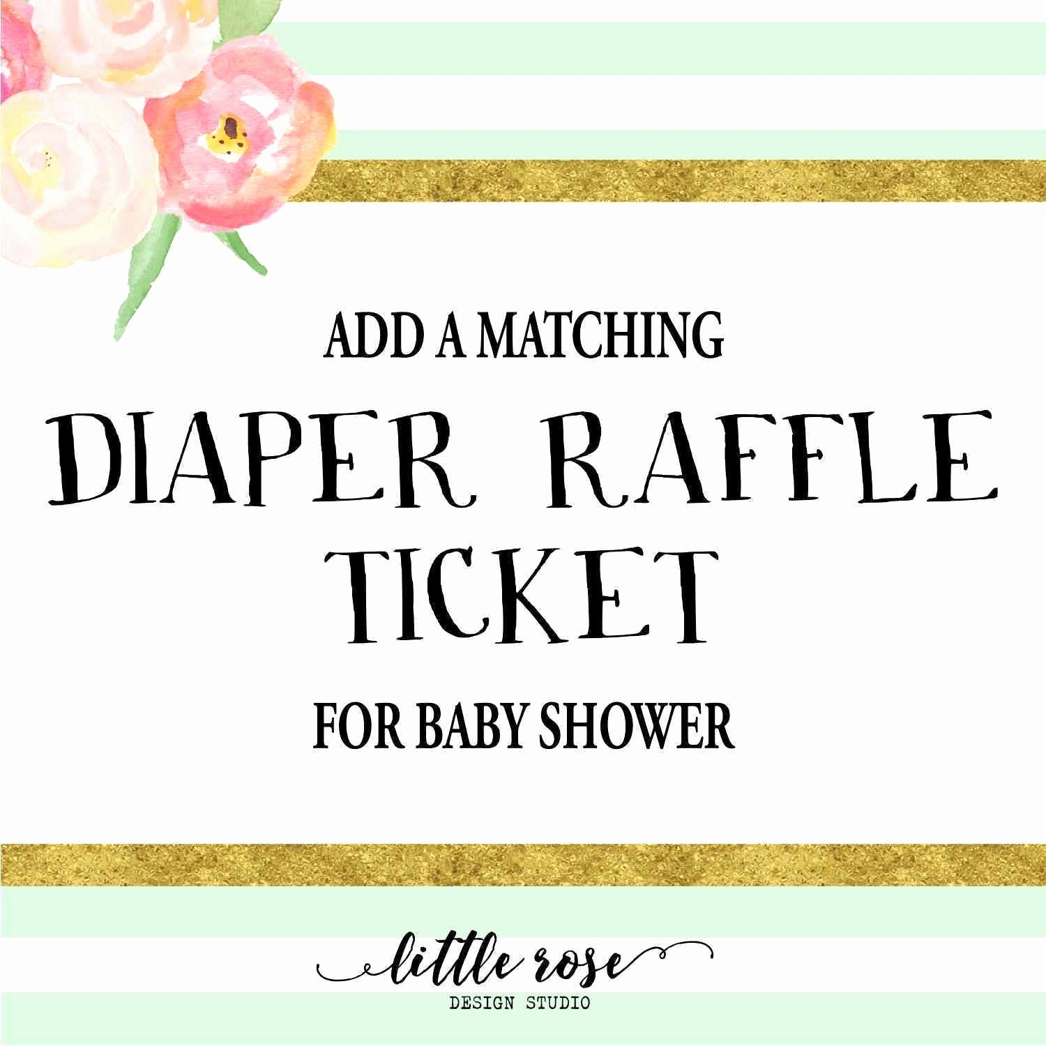 Rosen Bilder Zum Ausdrucken Inspirierend 48 New Baby Shower Raffle Tickets Template Resume Cover Center