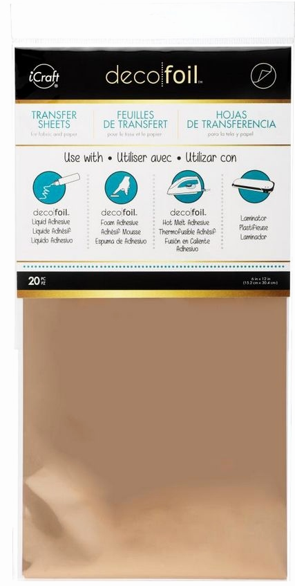 Rosen Bilder Zum Ausdrucken Luxus Icraft Decofoil Transfer Sheets Value Pack Rosegold