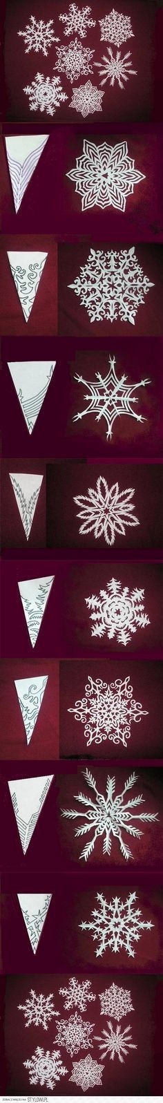 Schneeflocken Aus Papier Schneiden Luxus 90 Best Winter Bastelei Images On Pinterest