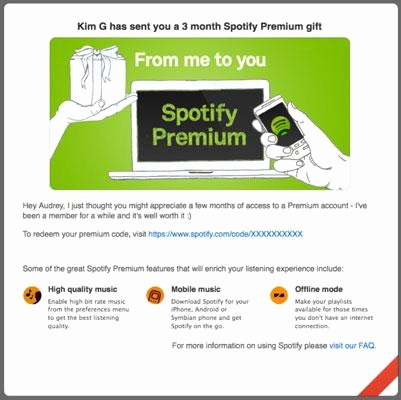 Spotify Family Telekom Neu Spotify Premium Gift Card New Gift Cards – Mpdrom