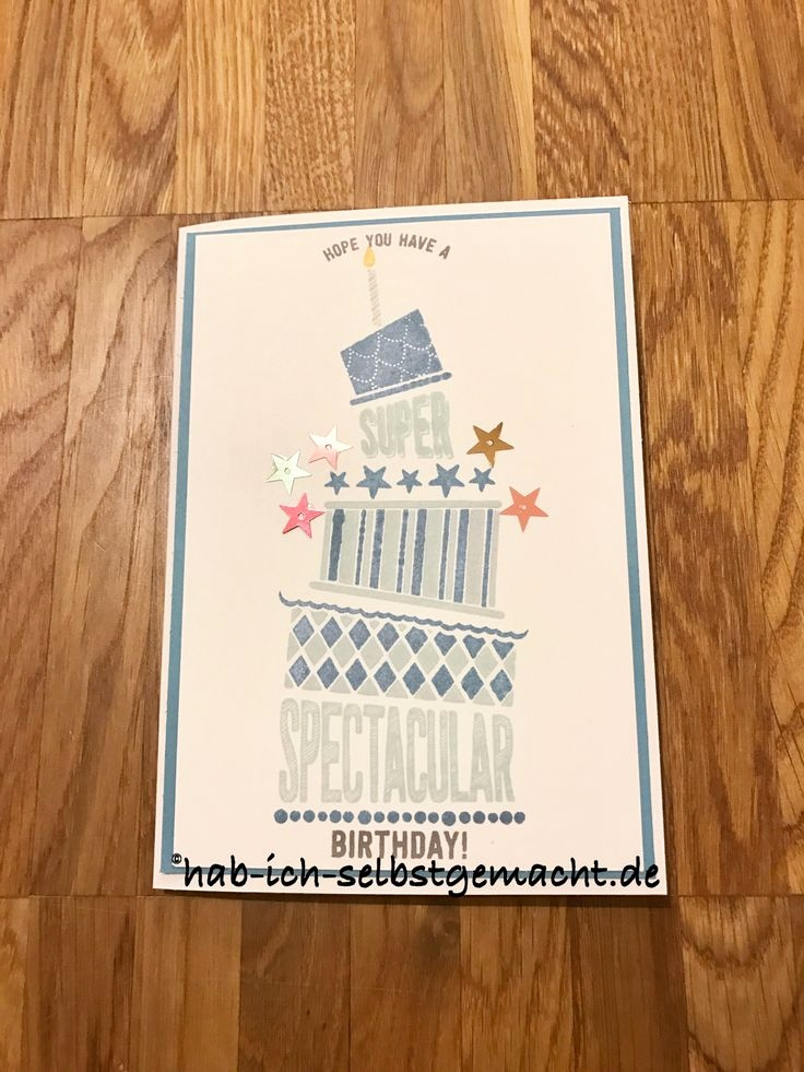 Stampin Up Geburtstagskarte Einzigartig 16 Best Stampin Up Cake Crazy Images On Pinterest