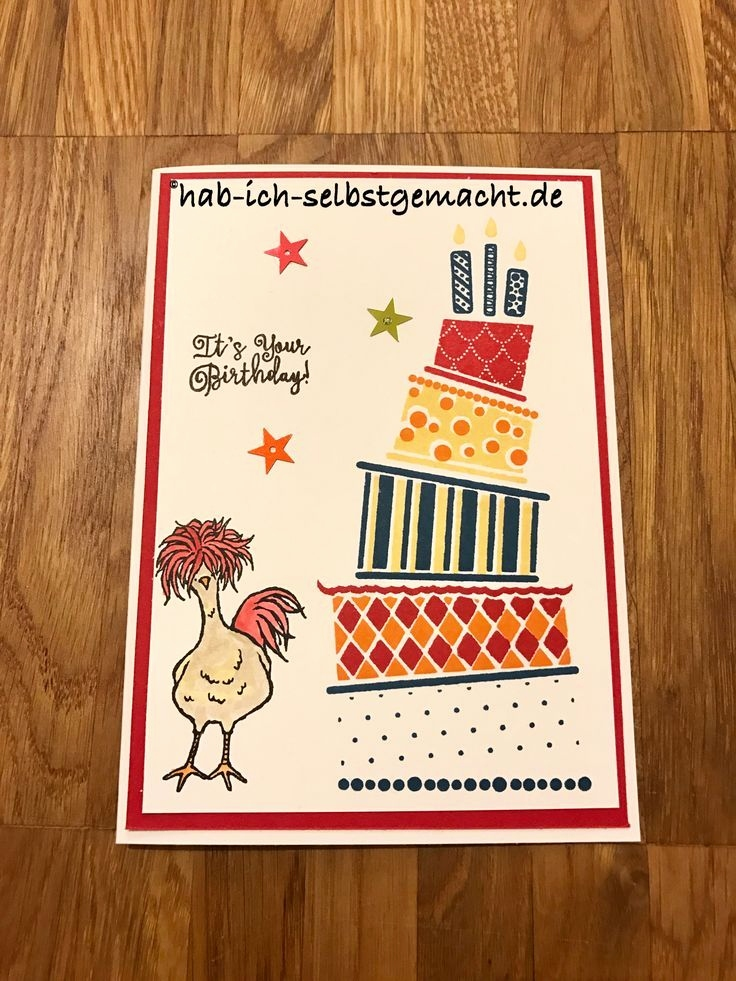 Stampin Up Geburtstagskarte Frisch 16 Best Stampin Up Cake Crazy Images On Pinterest