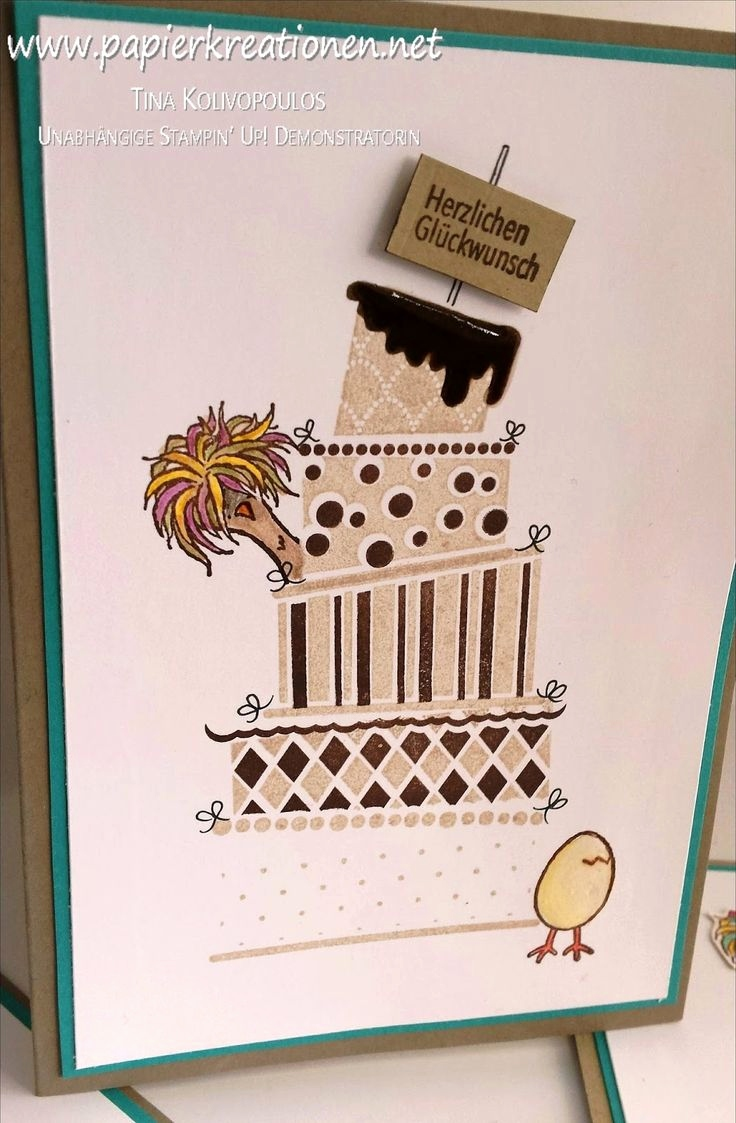 Stampin Up Geburtstagskarte Genial 16 Best Stampin Up Cake Crazy Images On Pinterest