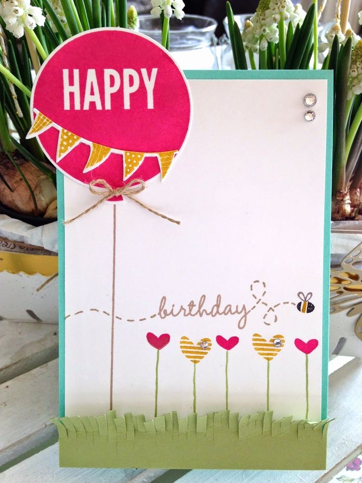 Stampin Up Geburtstagskarte Genial 227 Best Birthday Cards Geburtstagskarten Images On Pinterest