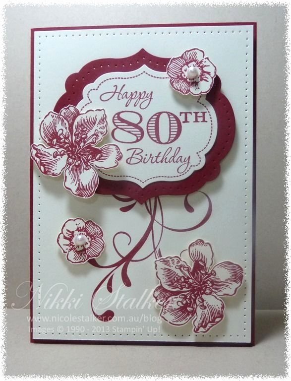 Stampin Up Geburtstagskarte Inspirierend Stampin Up Everything Eleanor Google Search
