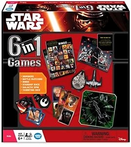 Star Wars Online Game Kostenlos Luxus Ravensburger Star Wars Episode 7 6 In 1 Games Set 2 to 4 Players Uk