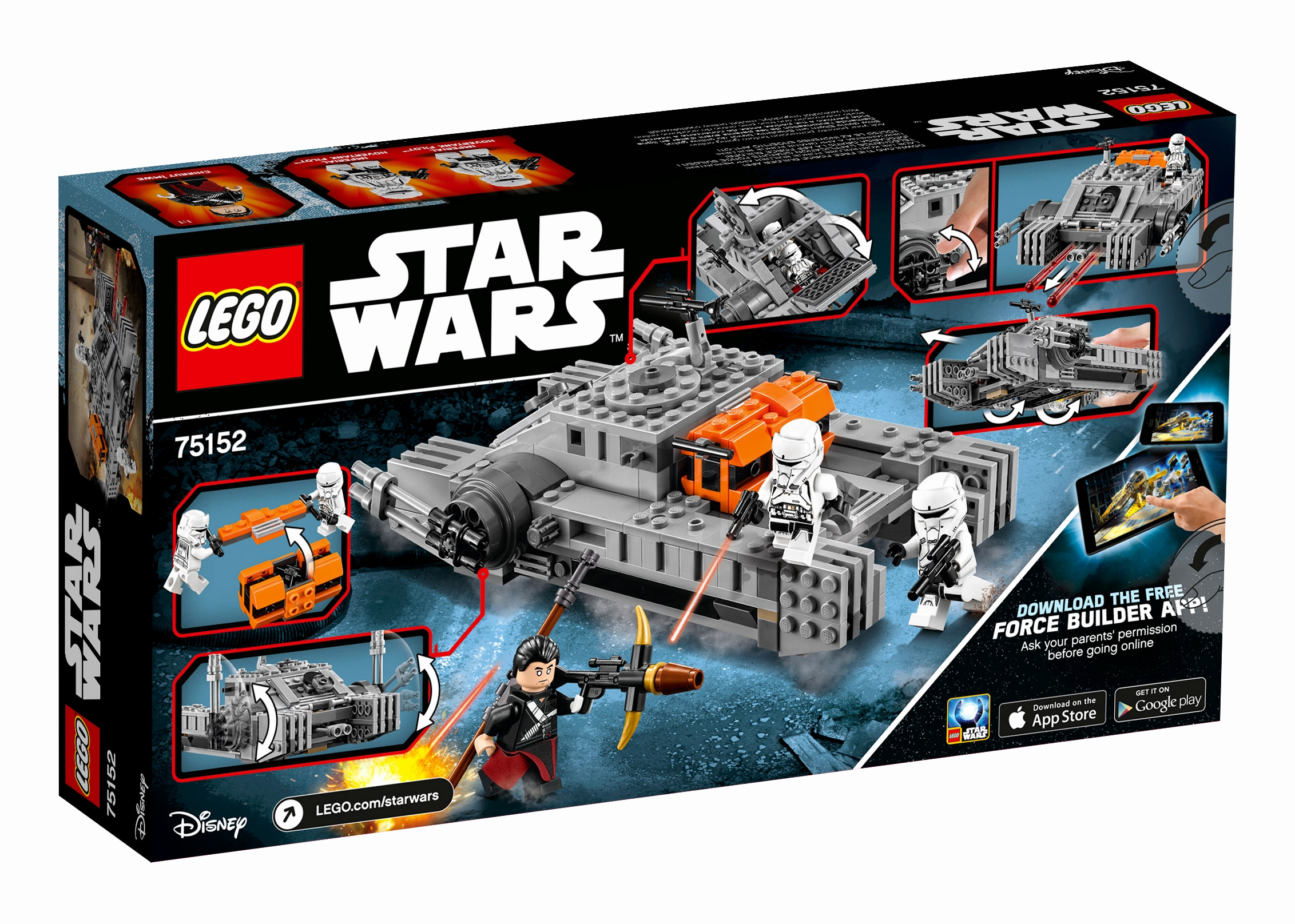 Star Wars Online Game Kostenlos Schön Lego Star Wars™ Rogue E Imperial assault Hovertank™ Animegami Store