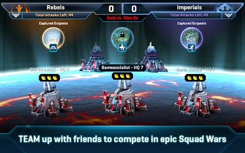 Star Wars Online Game Kostenlos Schön Star Wars™ Mander Apps On Google Play