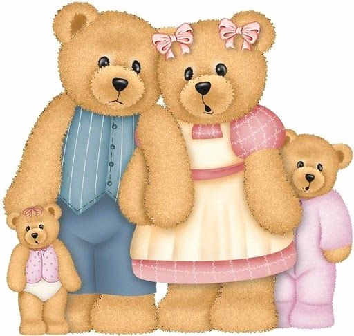 Teddy Gruskarten Neu Teddy Bear Family Clip Art T Bears 1 Clipart