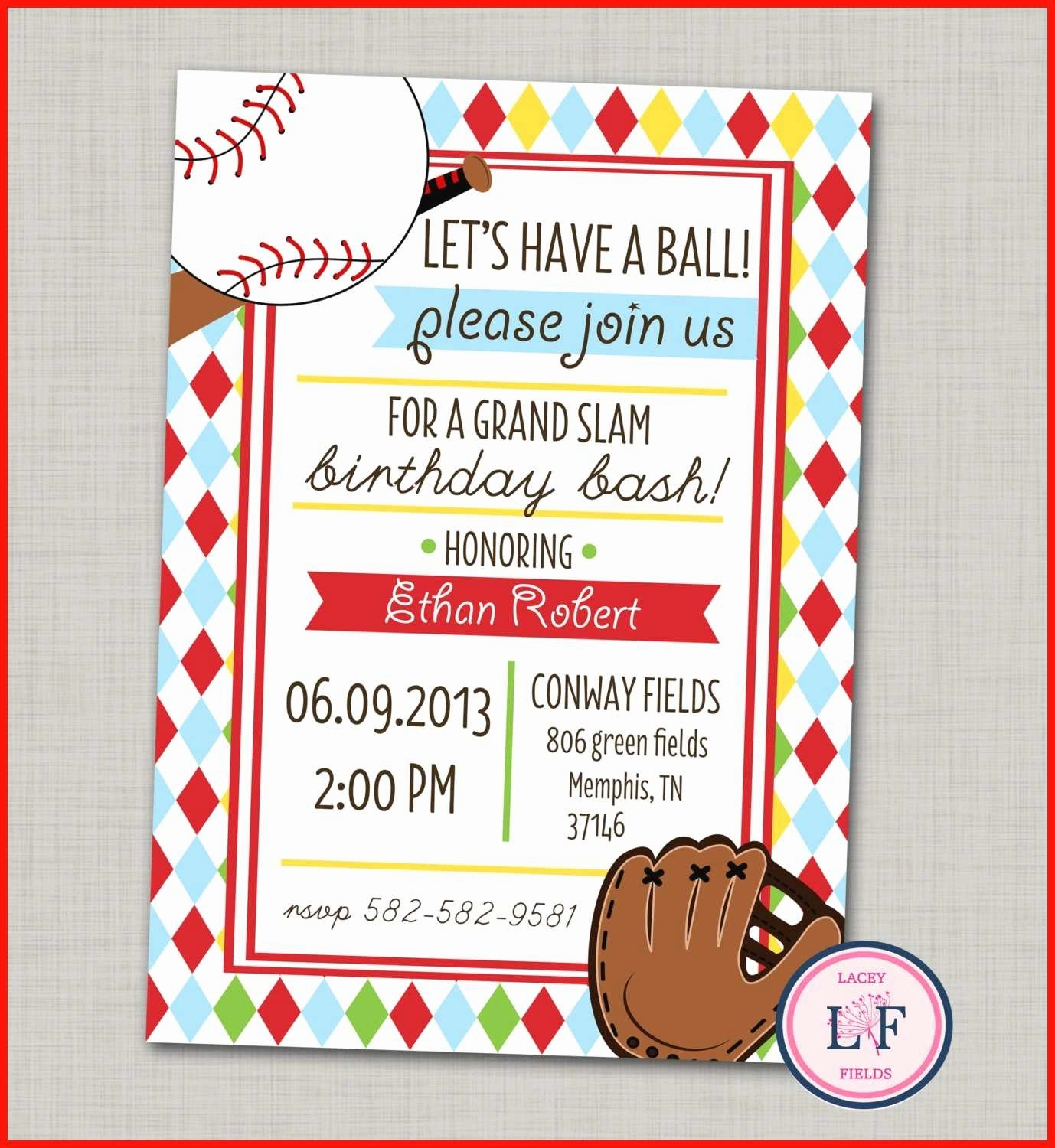 Ticket Vorlage Kostenlos Einzigartig Free Template for Baseball Ticket Invitation Elegant Contemporary