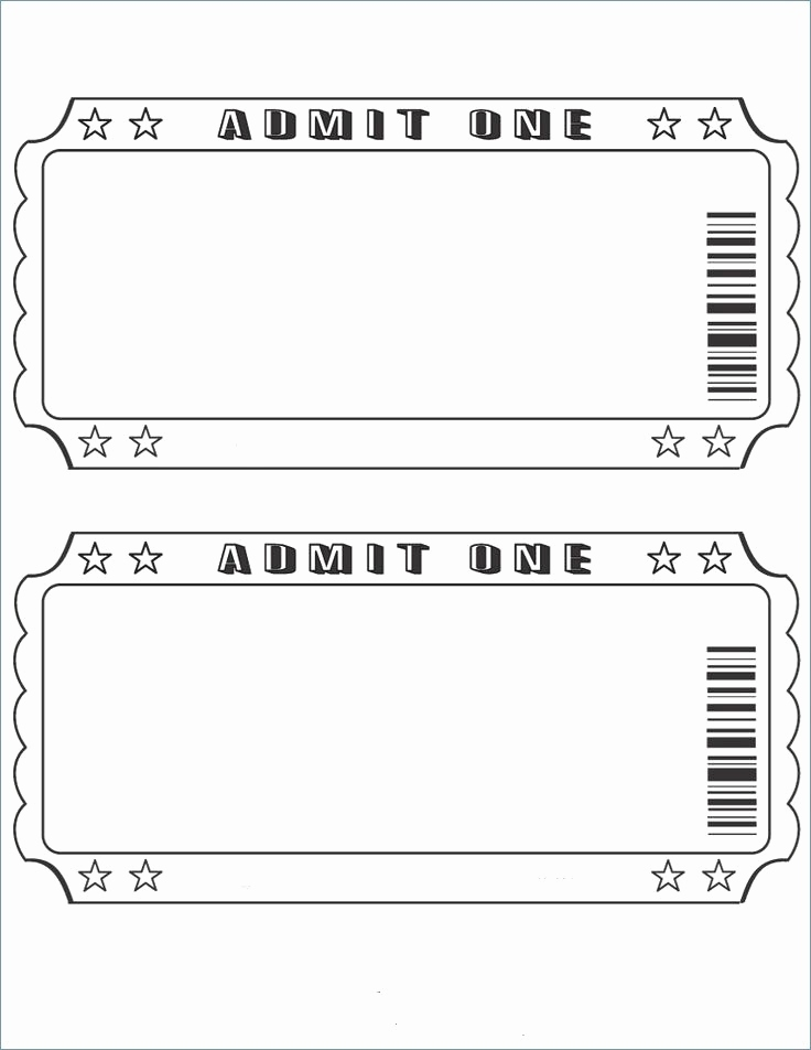 Ticket Vorlage Kostenlos Elegant event Ticket Template Word Ticket Creator Free Template Example