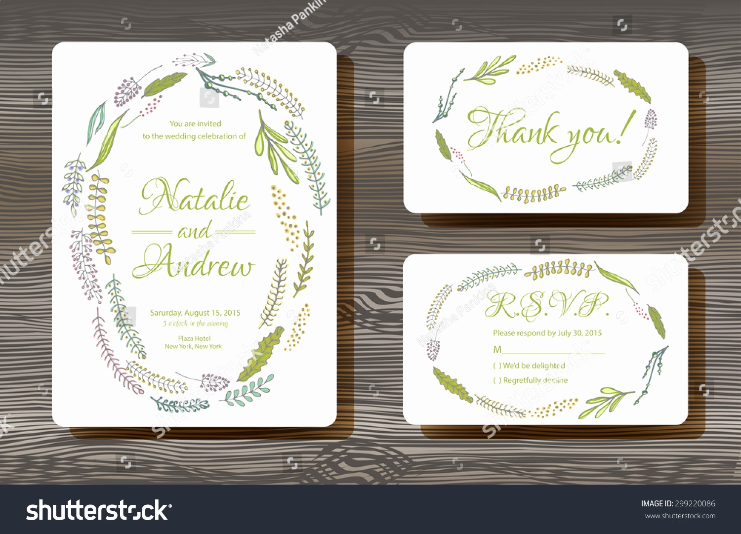 Wedding Tree Vorlage Luxus Unique Vector Wedding Cards Template Drawn Stock Vector