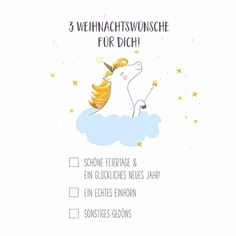 Weihnachtswunsche Karte Schön Unicorn Birthday Card Unicorn Card Children S Birthday Card