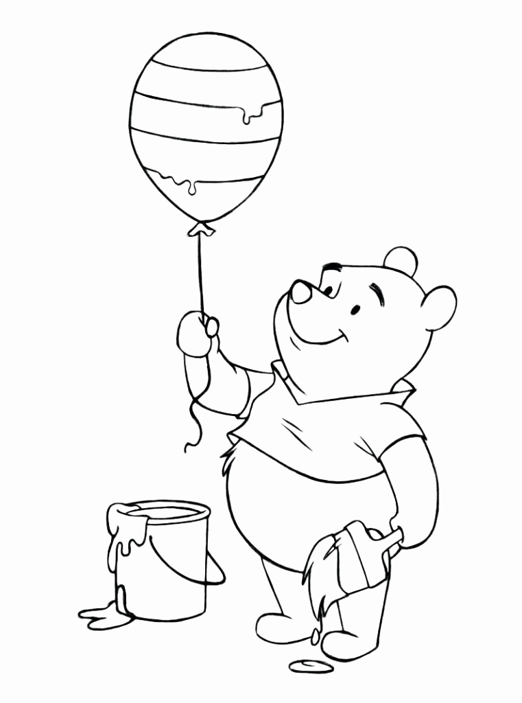 Winni Pooh Wandbilder Best Baby Winnie the Pooh and Friends Coloring Pages Coloring Pages