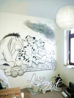 Winni Pooh Wandbilder Frisch 52 Best Airbrush Wandgestaltung Images On Pinterest