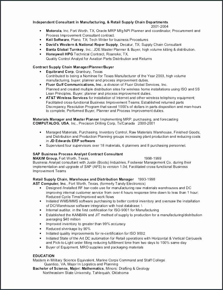 Word Free Download Chip Frisch 1 Page Template Word E Resume Quality assurance Executive E Page