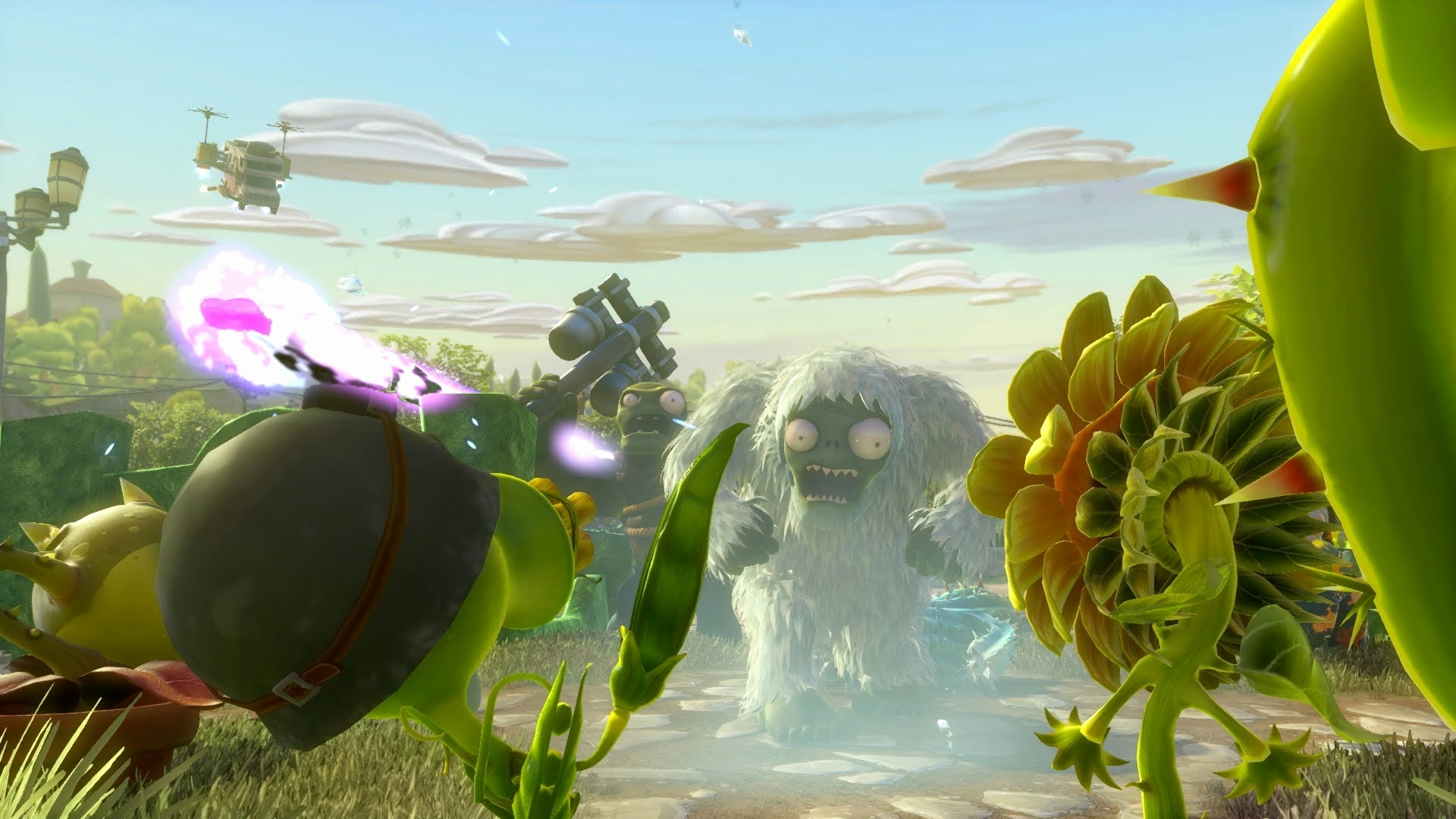 Www Pflanzen Gegen Zombis Best Plants Vs Zombies Garden Warfare Launch Trailer Esrb 10