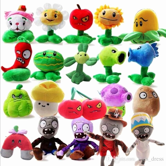 Www Pflanzen Gegen Zombis Neu Line Cheap Plants Vs Zombies Plush toy Stuffed Animal Figures