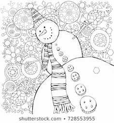 Zentangle Pattern Books Schön Pattern for Coloring Book Xmas Balls and Christmas socks Zentangle
