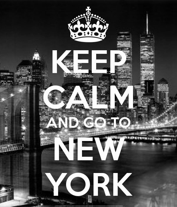 Poster New York Skyline Einzigartig Keep Calm and Go to New York Poster Karen S Me Party