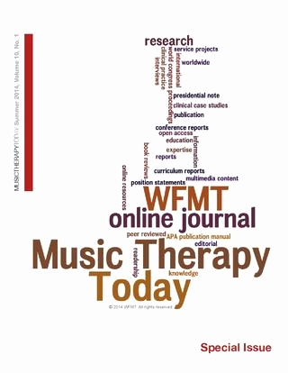 Save the Date Sprüche Luxus Music therapy today Vol 10 No 1 Special issue by World