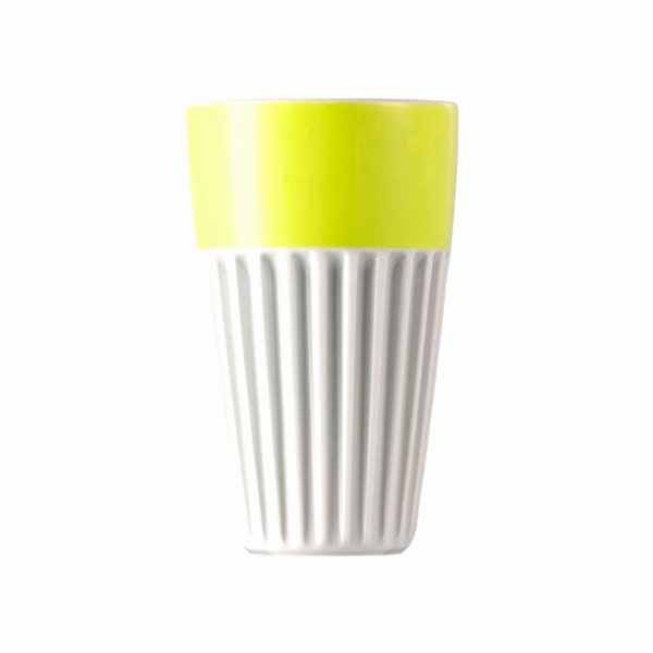 Thomas Porzellan Sunny Day Best Sunny Day Lime Cup° Becher 13 Cm 0 35 L