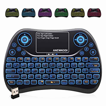 Blu Ray Regal Beleuchtet Schön Mini Tastatur Wireless Mit touchpad Smart Tv Tastatur Amazon