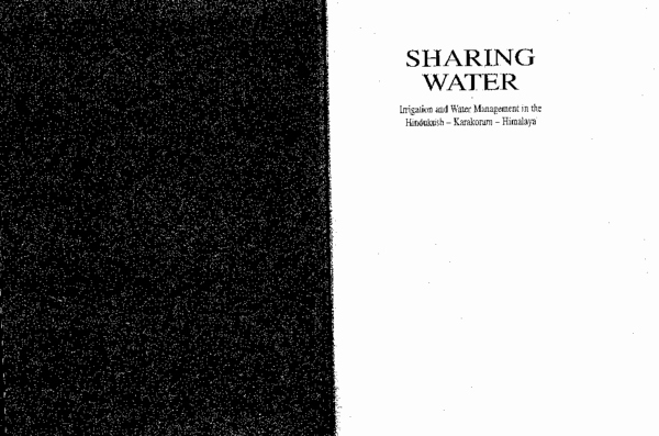 Breckle Vital Spring Schön Pdf Sharing Water Irrigation and Water Management In the Hindukush