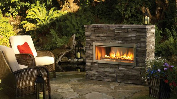 Gas Feuerstelle Garten Inspirierend Regency Horizon Hzo42 Contemporary Outdoor Gas Fireplace