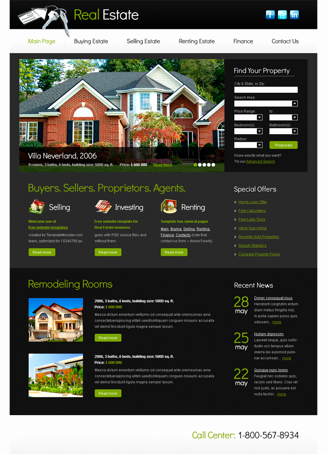 Massa Haus Preise Inspirierend Professional Modern Real Estate Web Design for A Pany by Faddy