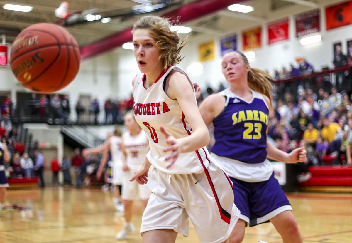 Sports Und Spa Hannover Elegant Wisco Veach Carry No 10 Central Dewitt Girls Over Rival Maquoketa