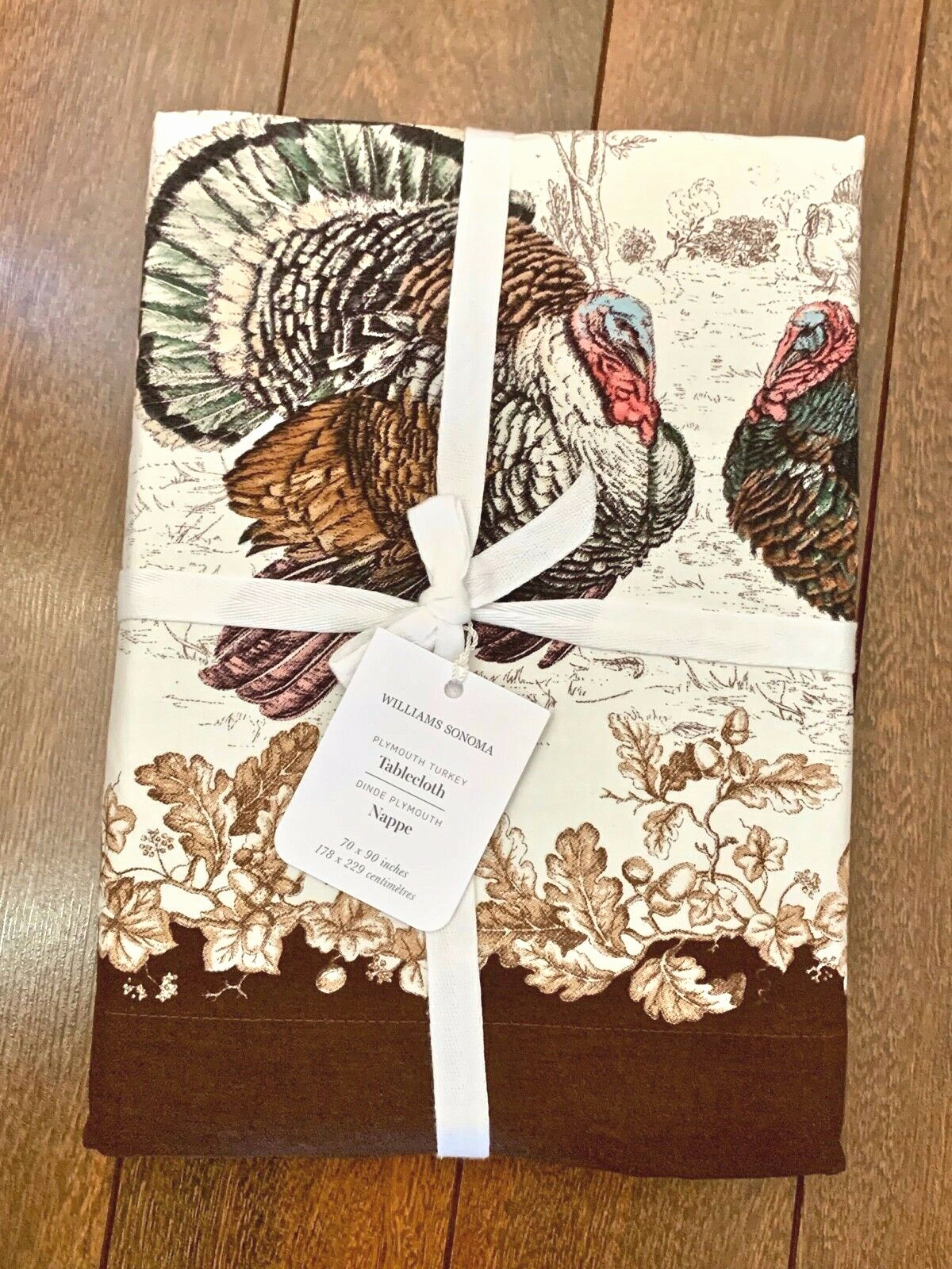 Stehlampe Aus Papier Best Williams Plymouth Tablecloth Thanksgiving Fall Holiday 70 X 90 Nwt