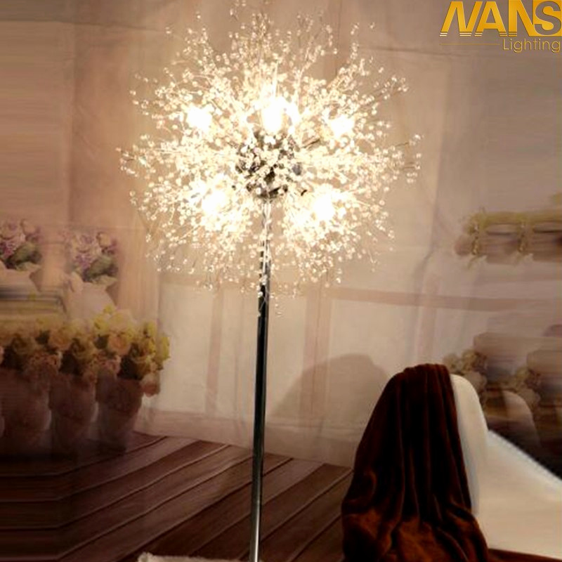 Stehlampen Modern Design Genial Nans New Modern Crystal Stand Floor Lamps Simple Warm Led Floor Lamp