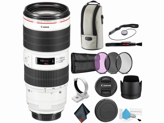 Usm Quick Ship Neu Canon Ef 70 200mm F 2 8l is Iii Usm Telephoto Zoom Lens for