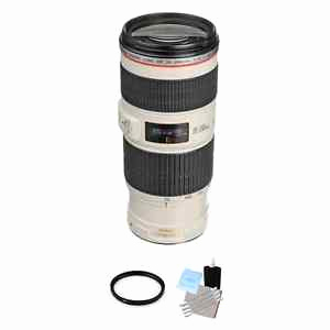 Usm Quick Ship Schön Canon Ef 70 200mm F 4 0 is Usm L Lens Uv Filter & Cleaning Kit