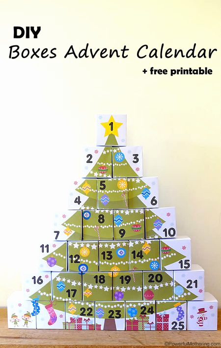 Adventskalender to Go Stampin Up Elegant 12 Free Christmas Printables