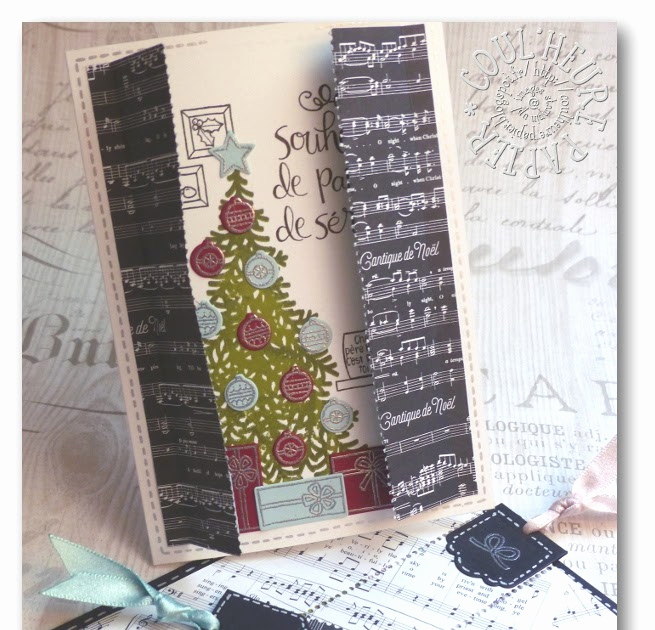 "Adventskalender to Go Stampin Up Inspirierend Coul Heure Papier ""carte   Déchirer "" [tutoriel]"