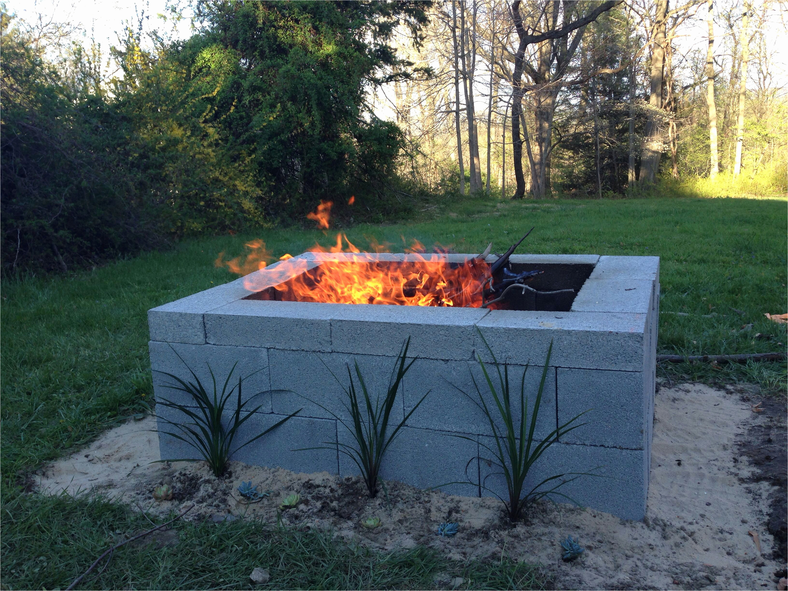 Gas Feuerstelle Outdoor Best Diy Fire Pit Deck 15 Outstanding Cinder Block Fire Pit Design
