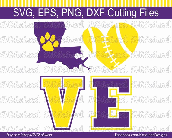 Png to Dxf Best Lsu Svg Lsu Football Svg Lsu Louisiana Tigers Svg Eps