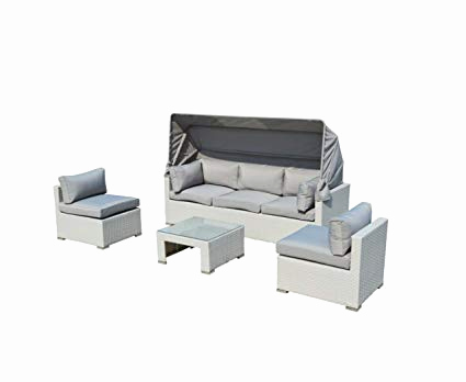 Schillig sofa Outlet Schön Outdoor Patio Furniture Backyard sofa Modern All Weather Wicker Sectional 4pc Rattan Resin Couch Set