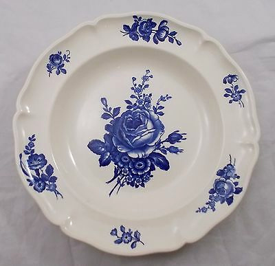 Switch 3 Villeroy Und Boch Schön Villeroy & and Boch Strasbourg Bleu Rose Salad Plate Open Flower