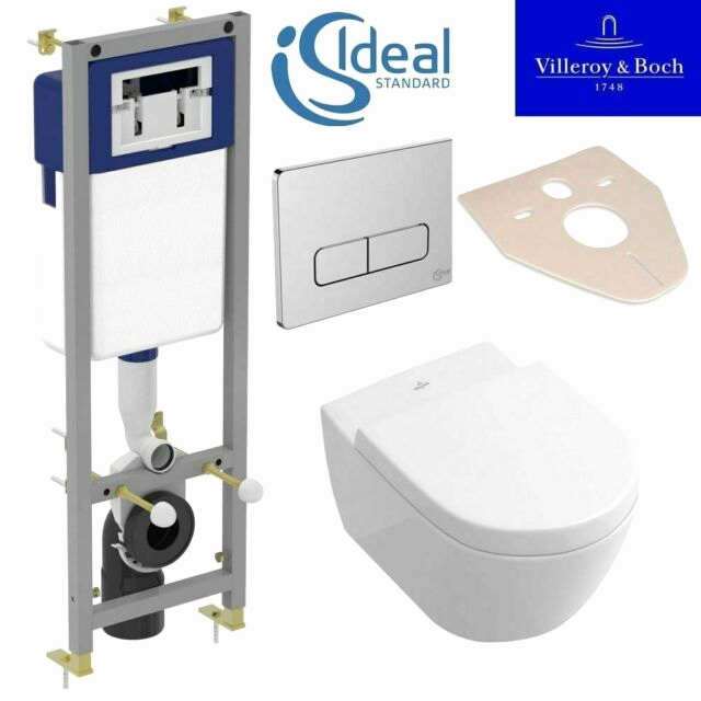 Villeroy Boch Subway Wc Best Ideal Standard Frame Villeroy Boch Subway Wall Hung toilet Pan soft Close Seat