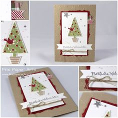 Weihnachtskarten Stampin Up Luxus 415 Best Stampin Up Festival Of Trees Images In 2015